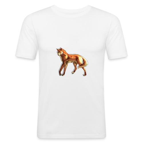 Fox of the night - Men's Slim Fit T-Shirt