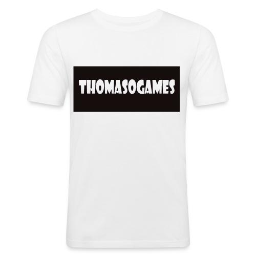 ThomasoGames Logo - slim fit T-shirt