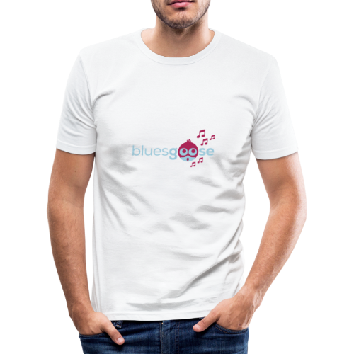 bluesgoose #01 - Männer Slim Fit T-Shirt