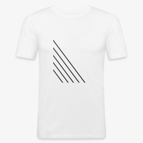 STRIPED - Herre Slim Fit T-Shirt