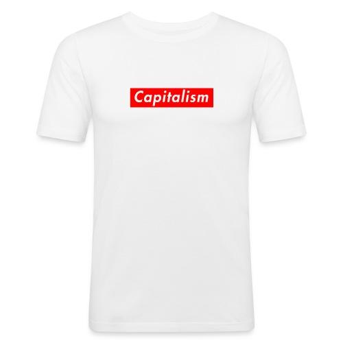 Soupreme capitalist - Men's Slim Fit T-Shirt