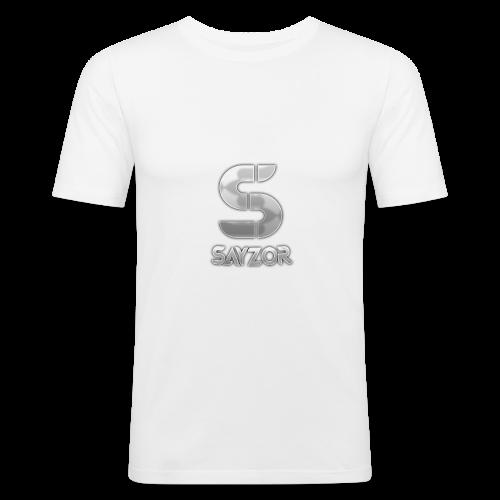 White 2017 Sayzor Merch! - Men's Slim Fit T-Shirt
