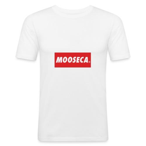 MOSECA BRAND - Maglietta aderente da uomo
