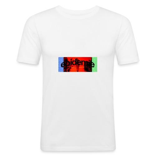 epidemie box logo - T-shirt près du corps Homme
