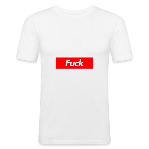 Fuck - Men's Slim Fit T-Shirt