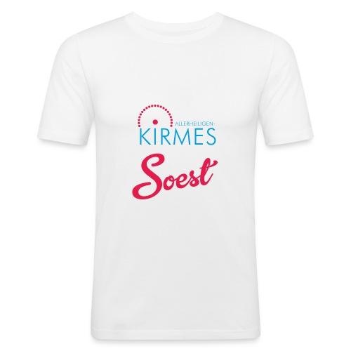 die Allerheiligenkirmes in Soest - Männer Slim Fit T-Shirt