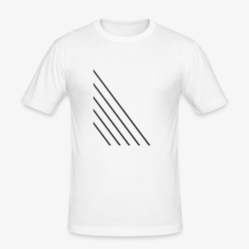 STRIPED - Herre Slim Fit T-Shirt