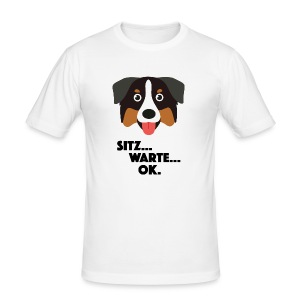 Hund - Männer Slim Fit T-Shirt