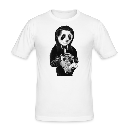 pandit graffiti bear - slim fit T-shirt