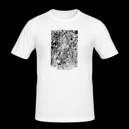 new order - Männer Slim Fit T-Shirt