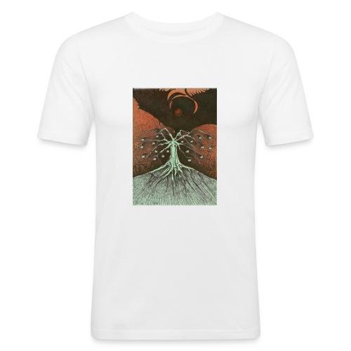 Time To Break Up Apples - Obcisła koszulka męska