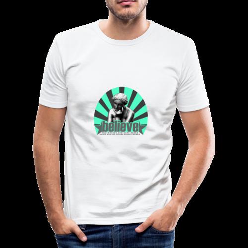 believe 3 (edition) - Männer Slim Fit T-Shirt