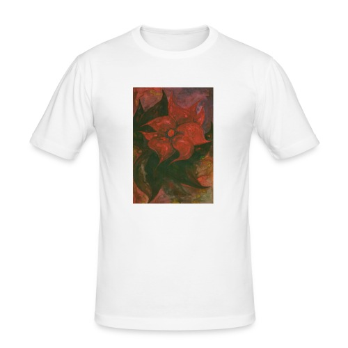 Flower 6 - Obcisła koszulka męska