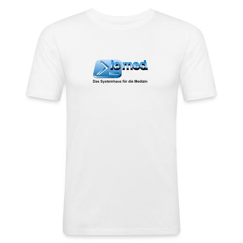 Klassik Logo ic med - Männer Slim Fit T-Shirt