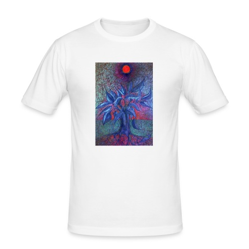 DrzewoKwiat - Obcisła koszulka męska