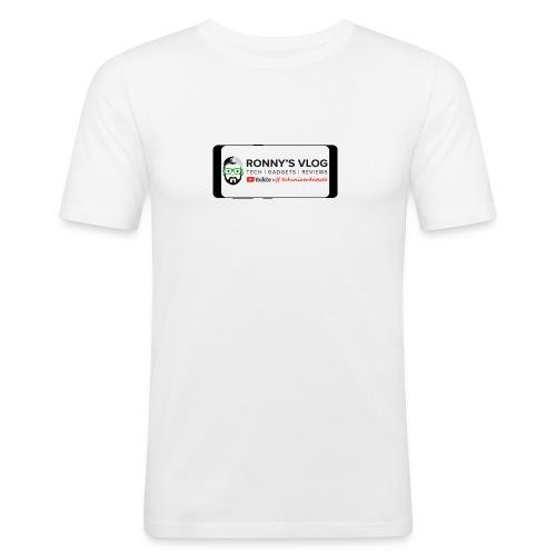 Galaxy S8 by Ronny's Vlog - Männer Slim Fit T-Shirt