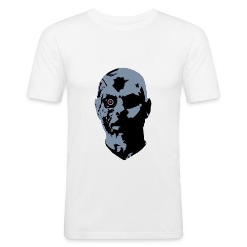 Vi är robotar i dagens samhälle - Slim Fit T-shirt herr