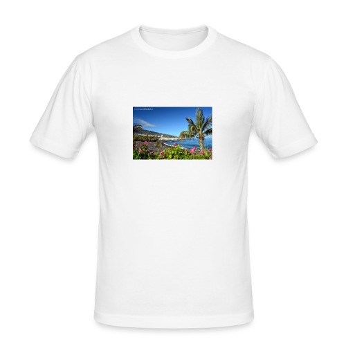Playa Jardin - Männer Slim Fit T-Shirt