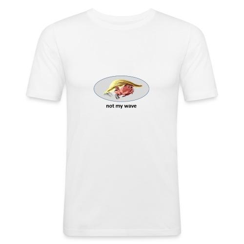 not my president - Männer Slim Fit T-Shirt