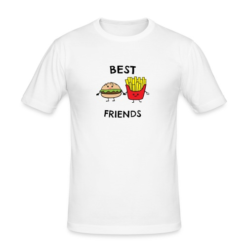 Best Fiends Shirt - Männer Slim Fit T-Shirt