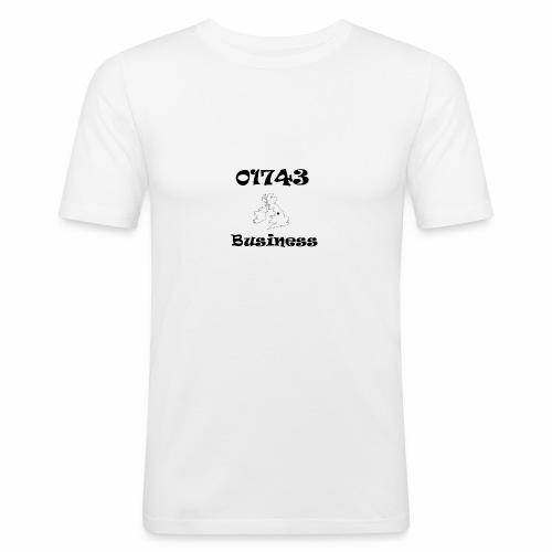 01743 Business - Men's Slim Fit T-Shirt