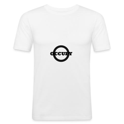 OCCUPY-jpg - Maglietta aderente da uomo