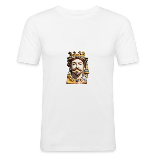TestadiMORO - Maglietta aderente da uomo