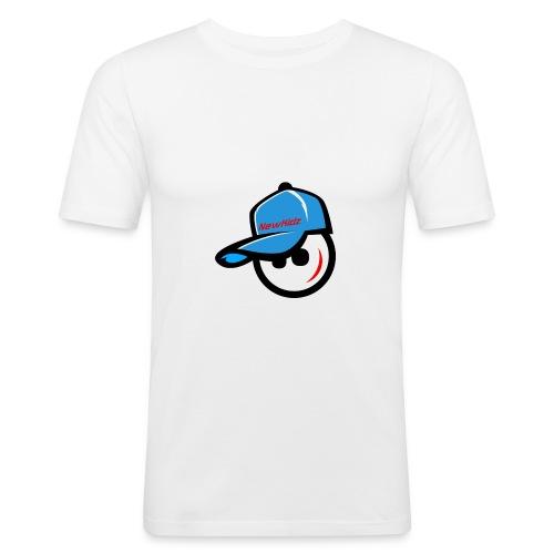 NewKidz Logo - Männer Slim Fit T-Shirt