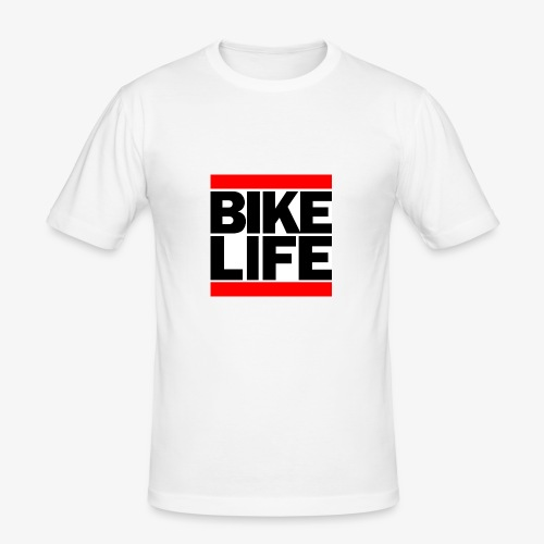 bikelife logo - Men's Slim Fit T-Shirt