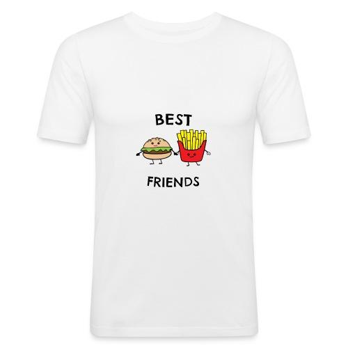 Best Fiends Shirt - Männer Slim Fit T-Shirt