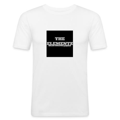 The Elementz merchandise - Männer Slim Fit T-Shirt