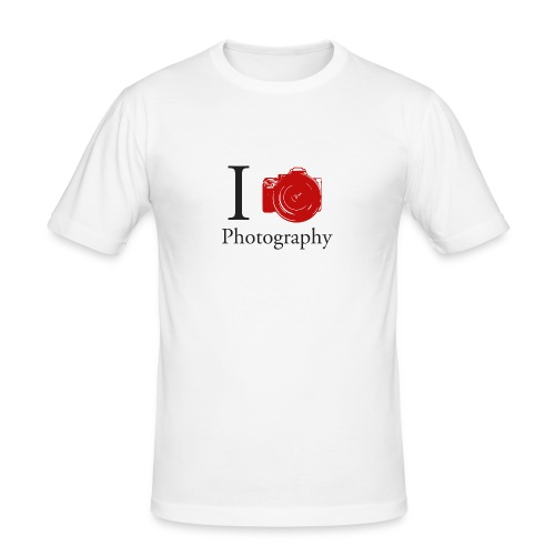 I Love Photography Collection - Männer Slim Fit T-Shirt