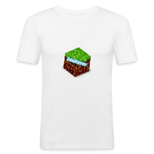 DerKevvv (Gras Block) - Männer Slim Fit T-Shirt