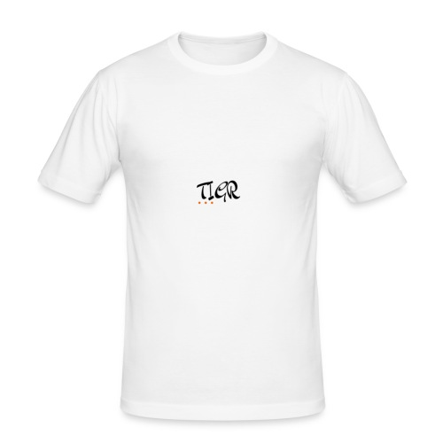 TIGR WORD LOGO - Men's Slim Fit T-Shirt