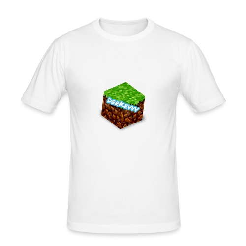 DerKevvv (Gras Block) - Männer Slim Fit T-Shirt