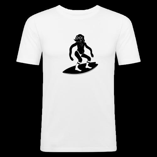 Designer Surferz Doggo - Männer Slim Fit T-Shirt