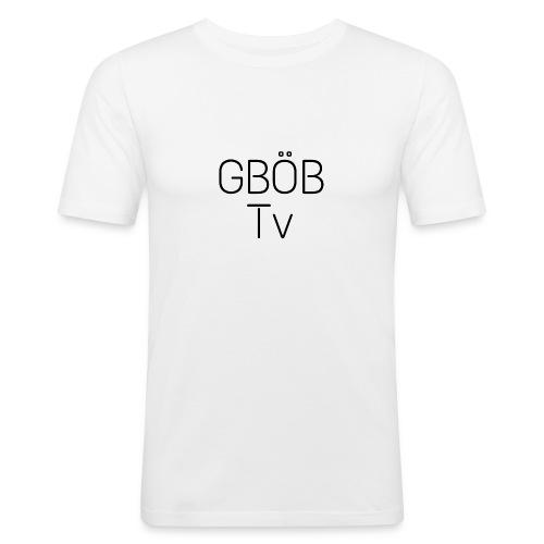 GBÖB Tv - Männer Slim Fit T-Shirt