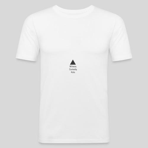 Curiosity - Slim Fit T-skjorte for menn