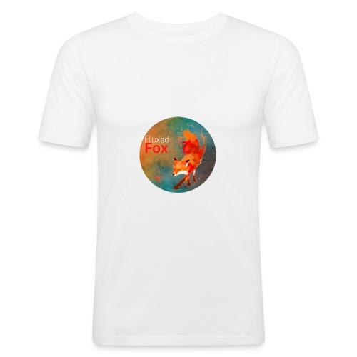 FluxedFoxOffical - Men's Slim Fit T-Shirt