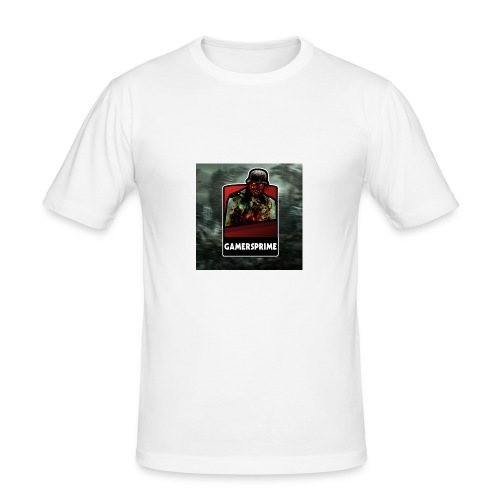 GamersPrime Logo - Slim Fit T-skjorte for menn