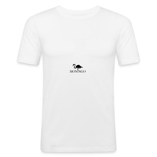 Moningo Flamingo - Slim Fit T-skjorte for menn