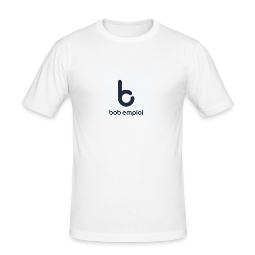 Logo_Bob_Emploi - T-shirt près du corps Homme