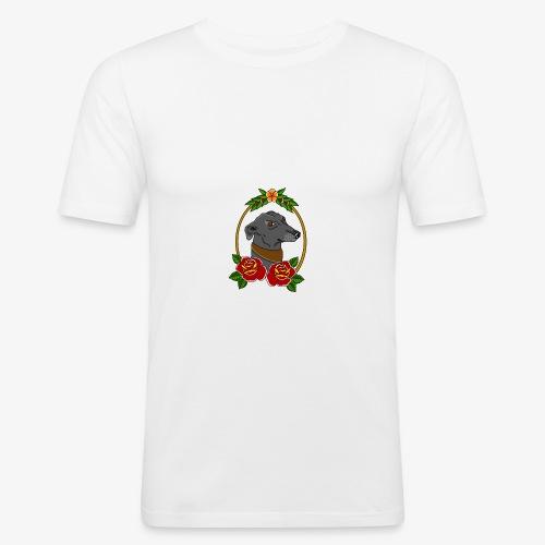 Blue Greyhound - Men's Slim Fit T-Shirt