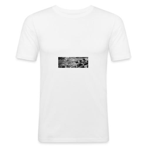 Ghetto12524 - Männer Slim Fit T-Shirt