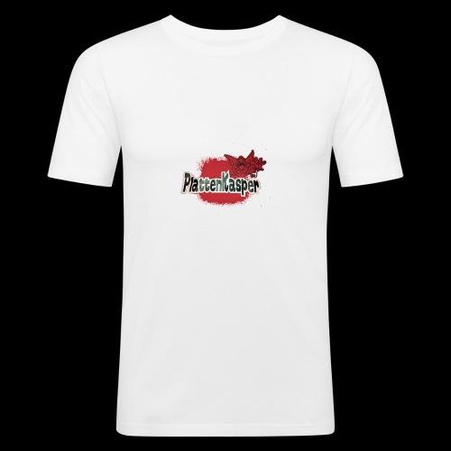 Der Plattenkasper - Männer Slim Fit T-Shirt