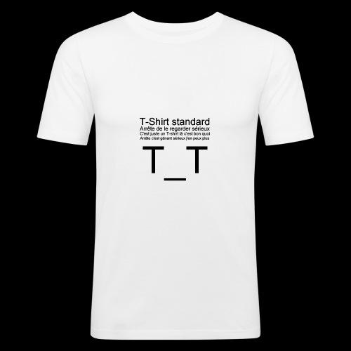 T-shirt dépressif - T-shirt près du corps Homme