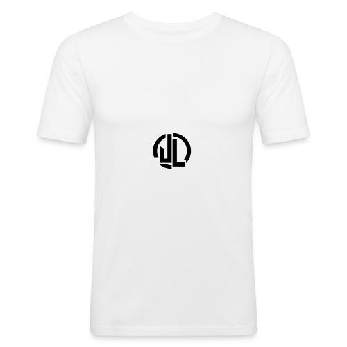 The Black JL Logo - Men's Slim Fit T-Shirt