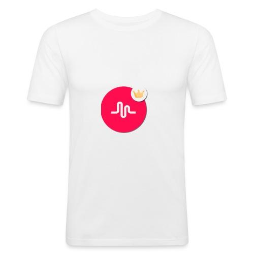 musical.ly - T-shirt près du corps Homme