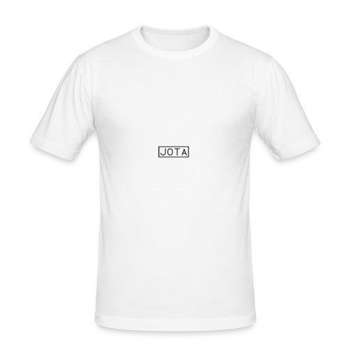 Jota Box Logo - Men's Slim Fit T-Shirt