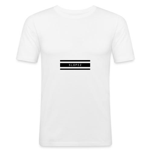 SLOPEZ Logo - Slim Fit T-skjorte for menn